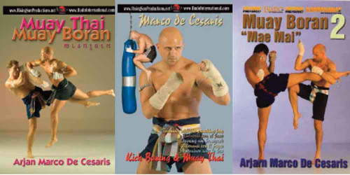 Muay Thai Budo Box Set ( 3 DVDs )