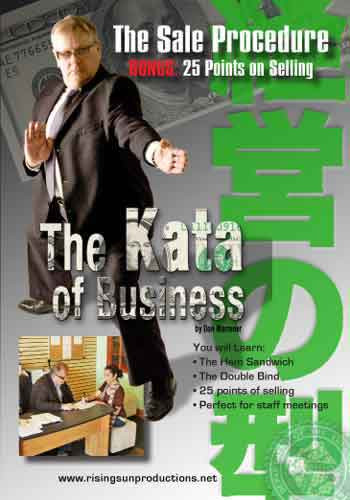 The Kata of Business Sales Procedure