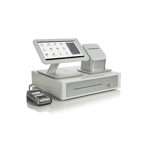 Clover Station with Printer, Cash Drawer and FD-40 Pin Pad