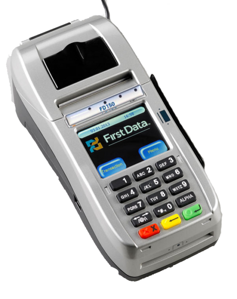 First Data FD 150 (Brand New & EMV Enabled Terminal)