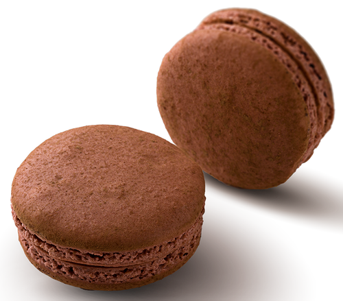 Milk Chocolate - Milk chocolate ganache in a hand made gluten free macaron shell