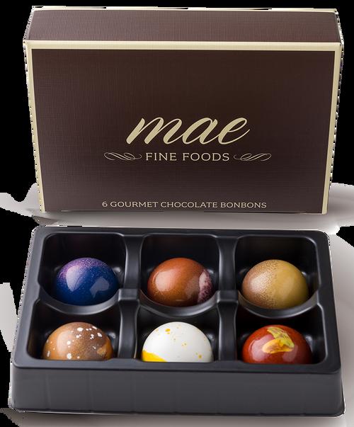 6 Gourmet Classic Bonbons | Wholesale Bulk Gourmet Chocolate