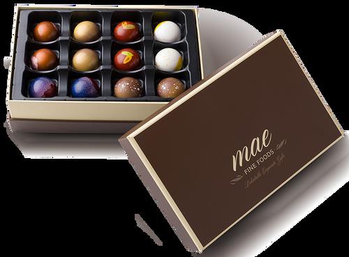 12 Gourmet Classic Bonbons   Buy Online Gourmet Chocolate