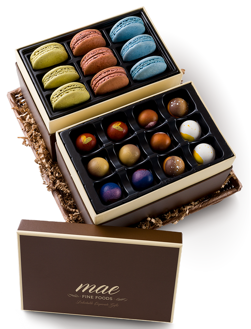 Gift Basket | Macarons and Bonbons buy online | ships nationally