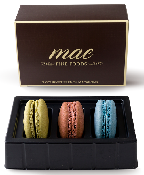 3 Classic French Macaron | Buy online Gluten Free