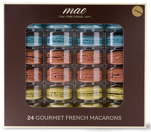 24 Classic French Macaron | Buy Online Gluten Free