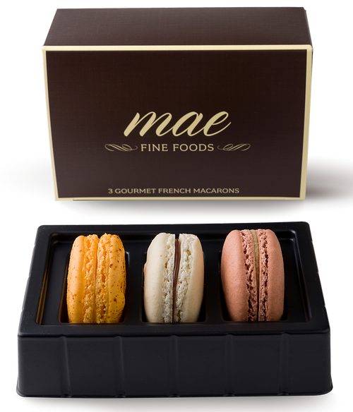 3 Sabaores Mexicanos Macarons | Buy Online