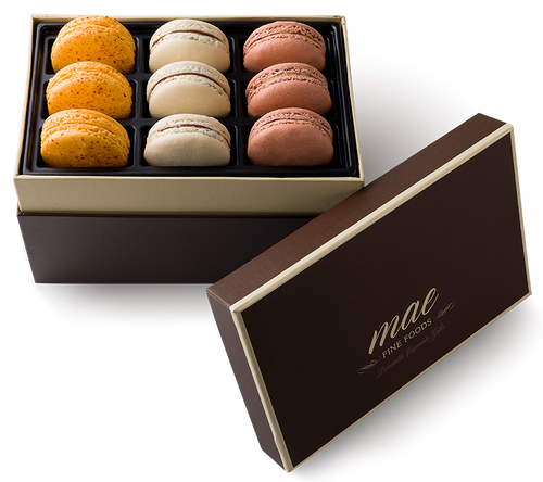 Sabores Mexicanos 9pc Gift Box Macarons | Buy Online