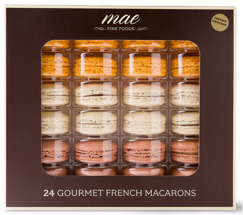 Sabores Mexicanos 24pc Gift Box Macarons | Buy Online Mexican Flavors