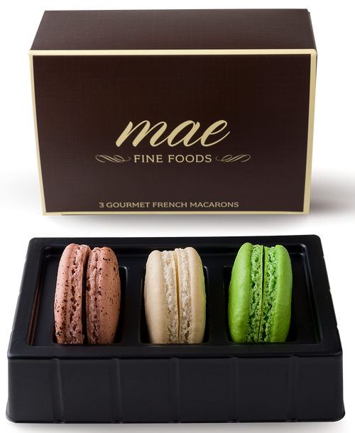 3 Coffee House Macarons | Buy Online