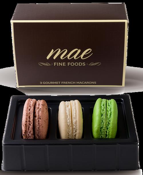 3 Coffee House Macarons | Buy Online