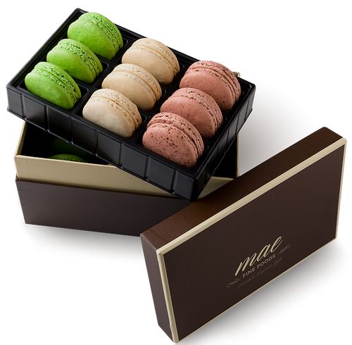 18 Coffee House Macarons | Buy Online