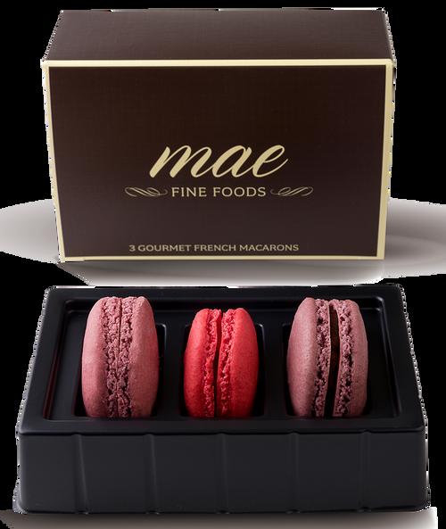 3 Berry Macarons | Buy Online Gluten Free