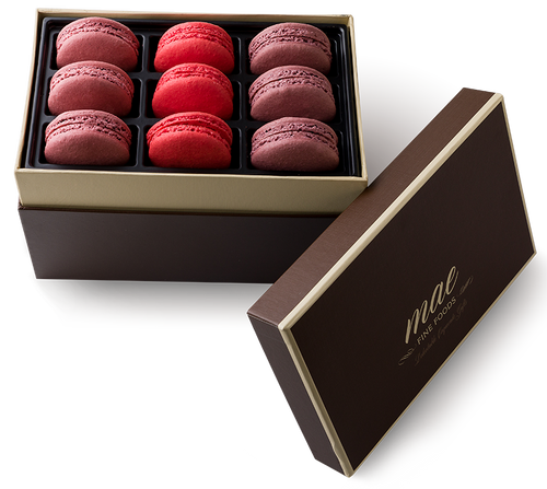 9 Berry Collection  Macarons | Buy Online Gluten free | French Macarons