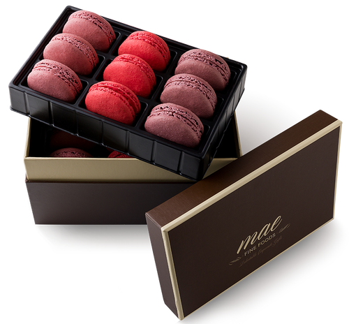 Berry Collection Macarons | Buy Online Gluten Free