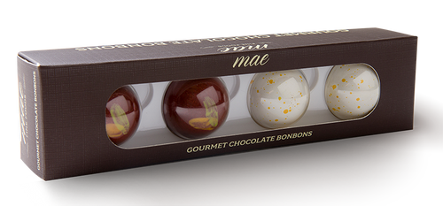 4PC Classic Bonbon great for CPG, Grab n Go, amenity or a small treat
