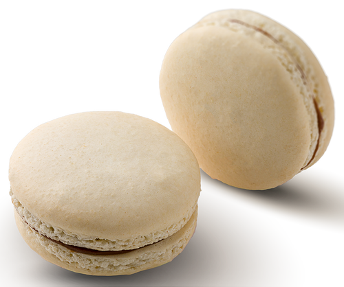 Cajeta Y Chocolate Macaron - Cajeta and milk chocolate ganache in a handmade gluten free macaron shell