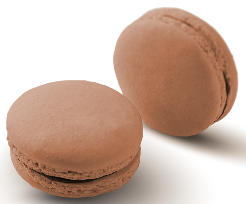 Chai Tea Macaron - Chai infused milk chocolate ganache in a hand made gluten free shell