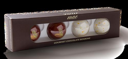 Bulk Retail Classic Flavors 4 Bonbons (58 Boxes)