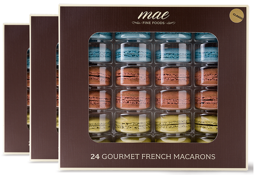 72 WHOLESALE MACARONS CLASSIC COLLECTION | RETAIL & RESORT READY