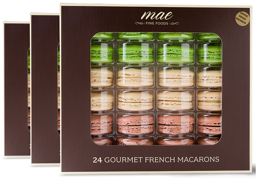72 WHOLESALE MACARONS COFFEE HOUSE COLLECTION