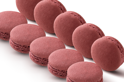 72 WHOLESALE MACARONS RASPBERRY