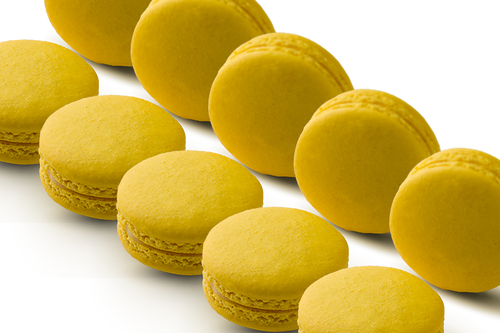 72 WHOLESALE MACARONS LEMON
