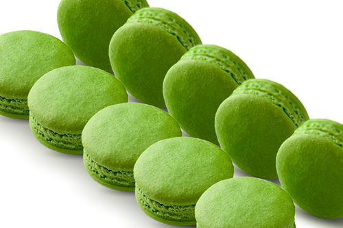 72 WHOLESALE MACARONS MATCHA GREEN TEA