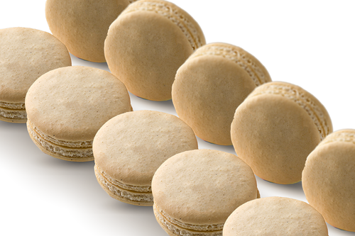 72 WHOLESALE MACARONS VANILLA BEAN