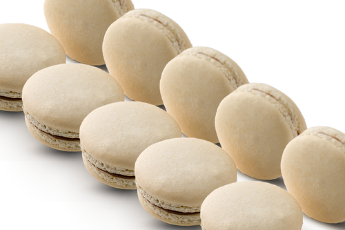 72 WHOLESALE MACARONS CAJETA Y CHOCOLATE