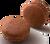 Milk Chocolate MAcaron -Milk chocolate ganache.
