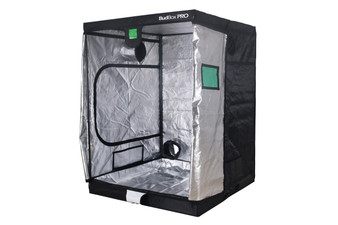 BudBox PRO XL PLUS SILVER 5x5 indoor grow tent is the perfect tent for a grow room. It has a 25mm strong steel frame and a silver interior. The BudBox Pro Grow Tent comes with roof support bars and straps.  The whole BudBox Pro Grow Tent range is now equipped with steel, push & click fit connectors, which, in addition to the thicker tempered steel poles, provide greater load bearing strength for all your filters, fans and lighting requirements. BudBox is still the ONLY grow tent that takes the time and care to powder coat our poles and connectors, delivering the best possible anti-corrosion protection and a very clean and reflective look. Our philosophy at BudBox is and will remain the cornerstone of our success and is not open to negotiation or compromise, WE USE THE BEST THERE IS ! All the component parts used in the construction of BudBox Grow Tents are sourced, tried & tested and are guaranteed safe for plants and people to use.  Maintaining a proper growing environment is crucial for a successful, high-yielding grow. Indoor growing tents provide a convenient way to isolate your growing area so you can maintain proper temperature, humidity, light and odor containment while keeping out dust and insects. BudBox grow tents are the newest, highest-quality, sturdiest tents we've used- and over many years of indoor growing, we've tried them all! Featuring the first white interior we have seen, easy assembly, easy access, sturdy frames to hold lights, filters and fans, the BudBox tents are the best way to create a self-contained environment for your indoor garden and maximize yields. A gorilla could hang from these grow tents! FEATURES - Strongest tent available - Award winning grow tents - Strong, black powder-coated frames 25mm tempered rolled steel - All metal push & click corner connectors - Large access doors / Inspection windows - Military grade zippers - Green viewing window - Double stitched seams - Uplift irrigation bar - Double cuff vents - 20% oversized vent