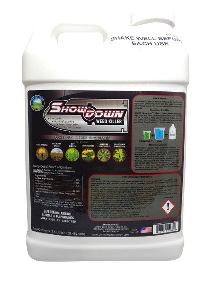 ShowDown Weed Killer Concentrate 2.5 gallon