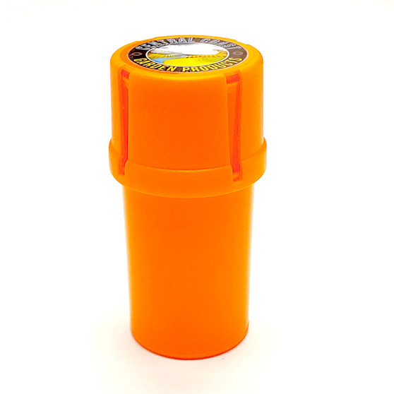 The Medtainer is versatile in its design, being able to traverse numerous consumer needs on the go. Through the product's ability to embody both air-tight & grinding capabilities, we are able to transcend various markets and expand its everyday uses.  - Air Tight - Water Tight - Medical Grade Plastic - Smell-proof medical grade container Features built-in grinder - Store. Grind, Pour
