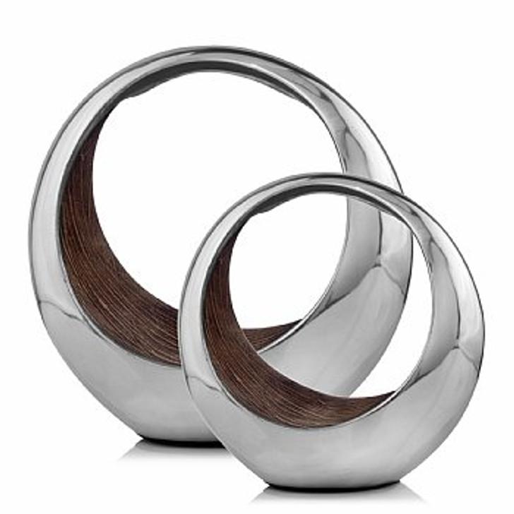Anillo Bronze Ring SM 2 Tone Bowl