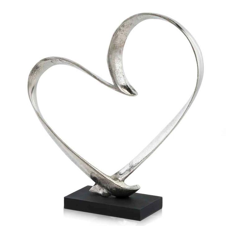 Corazon Heart Sculpture on Base