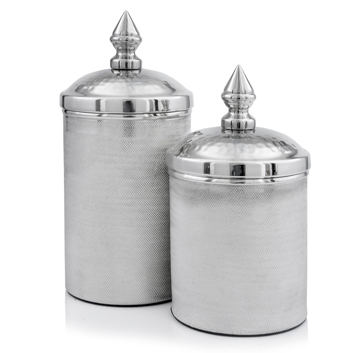 Botes Silver Canisters - Set of 2