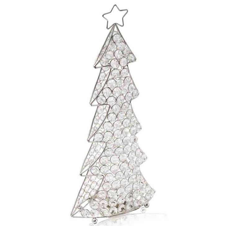 Corteza Cristal Silver Christmas Tree