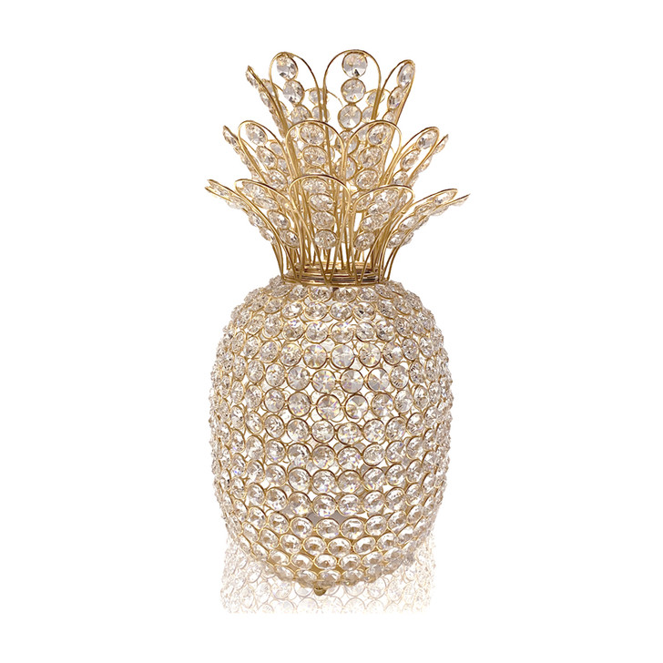 Pina Medium Cristal Gold Pineapple