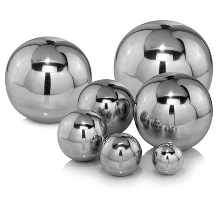 "Bola Polished Sphere/3""D - Set of 2"