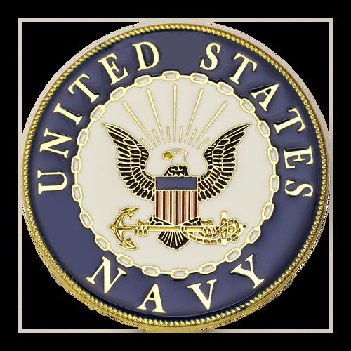 U.S. Navy Shellback Challenge Coin