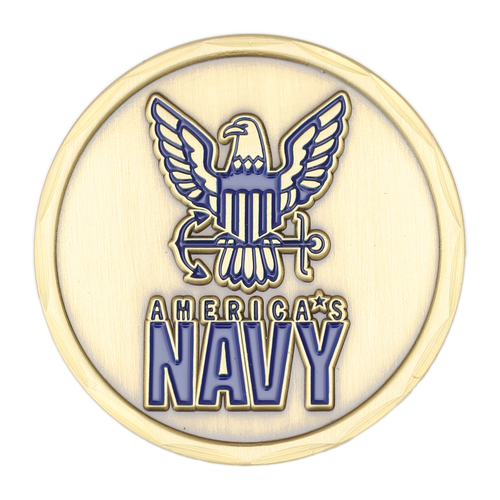 We Own the Seas Challenge Coin