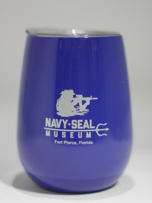 Navy SEAL Museum Wine Glass