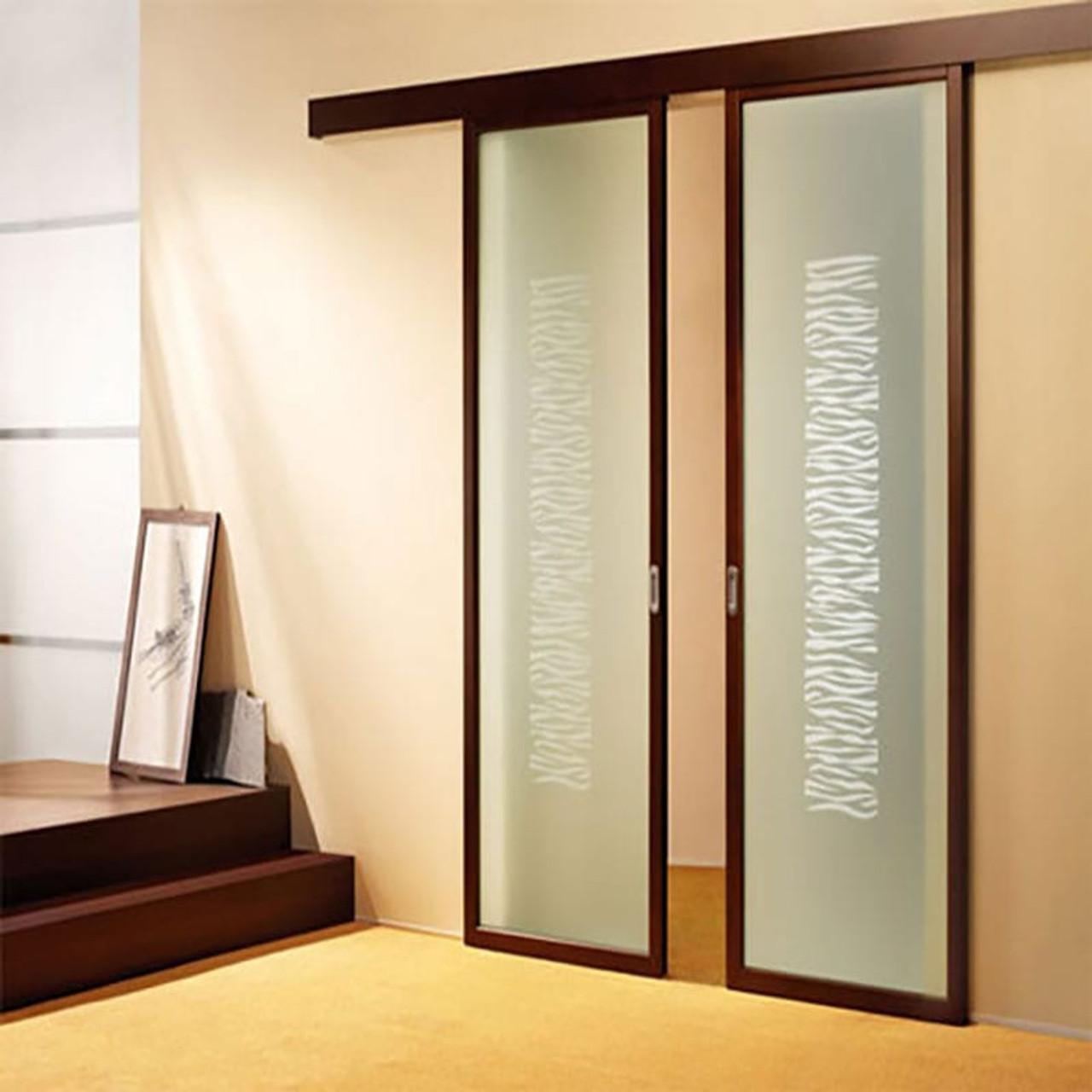 Hawa Junior 80/B Sliding Wood Door Fitting & Hawa Junior 80/B Sliding Wood Door Kit 11704 | Easy to Install