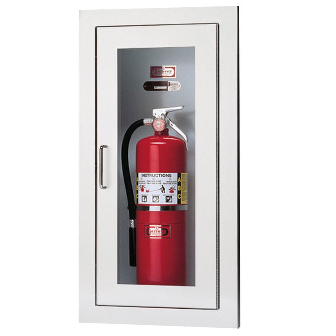 Recessed Fire Extinguisher Cabinet Larsen Architectural Series