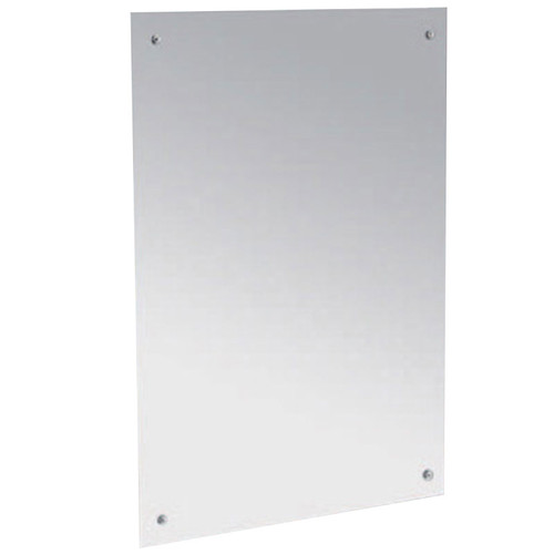 Gamco Frameless Polished Reflective Stainless Steel Mirror
