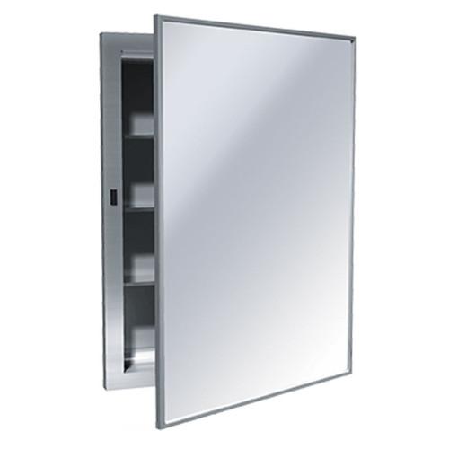 ASI Recessed Stainless Steel Medicine Cabinet with Mirror Door 0952