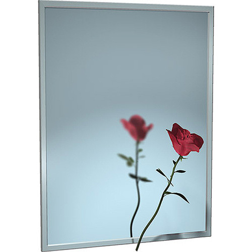 ASI Chan-Lok Stainless Steel Frame Mirror - Float Glass