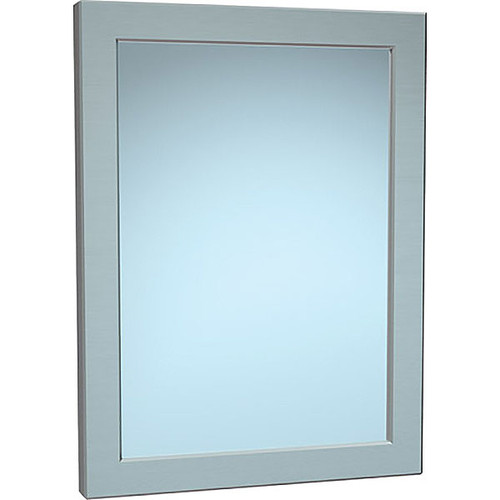 """ASI Chase Mounted 12""""W X 16""""H Framed Security Mirror"""