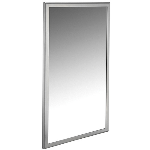ASI Roval Collection Inter-Lok Stainless Steel Framed Mirror - Plate Glass